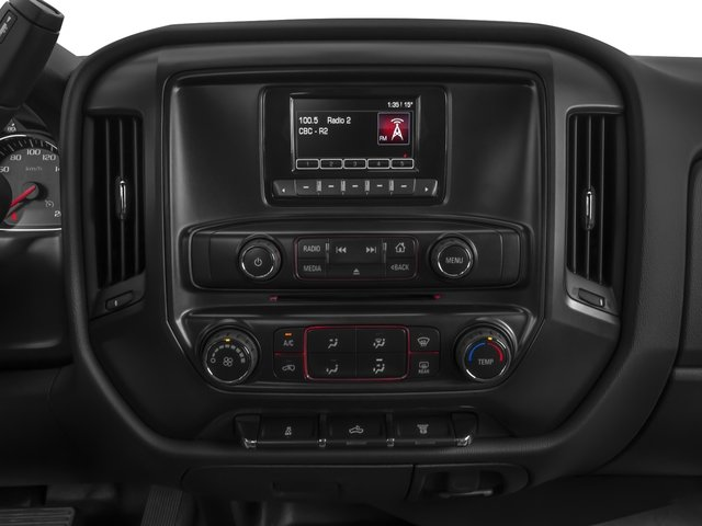 2016 GMC Sierra 3500HD Prices and Values Regular Cab 4WD stereo system