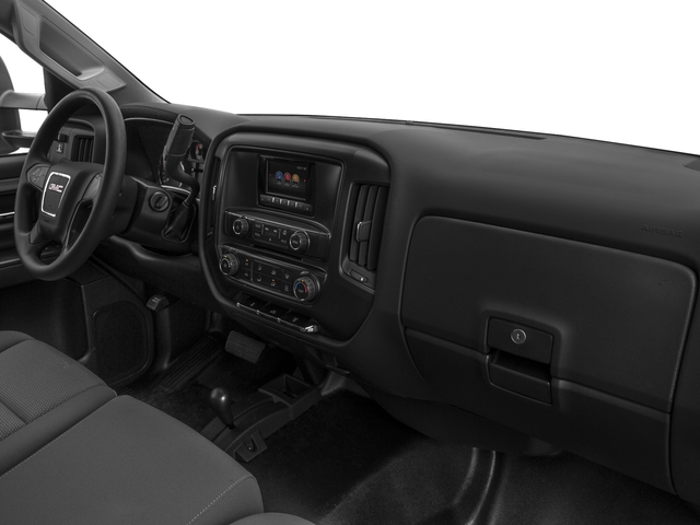 2016 GMC Sierra 3500HD Prices and Values Regular Cab 4WD passenger's dashboard