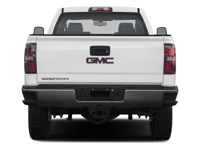 2016 GMC Sierra 3500HD Pictures Sierra 3500HD Extended Cab 2WD photos rear view