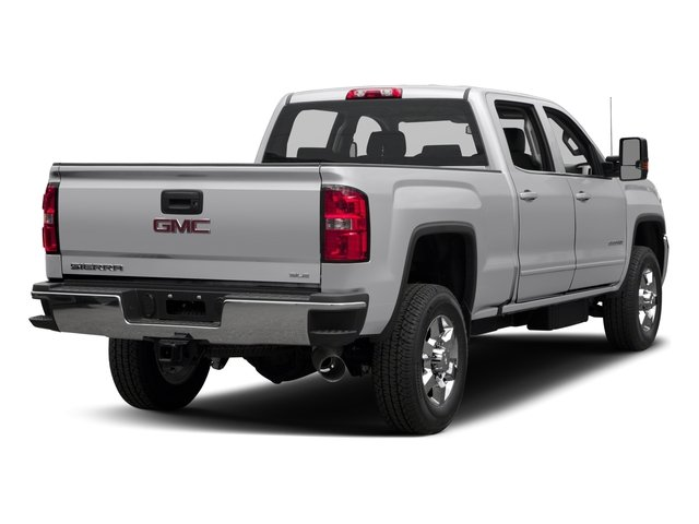 2016 GMC Sierra 3500HD Prices and Values Crew Cab SLE 2WD side rear view