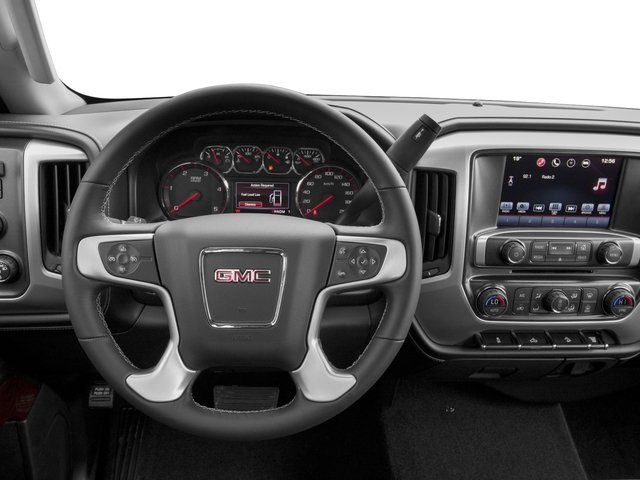 2016 GMC Sierra 3500HD Prices and Values Crew Cab SLE 2WD driver's dashboard