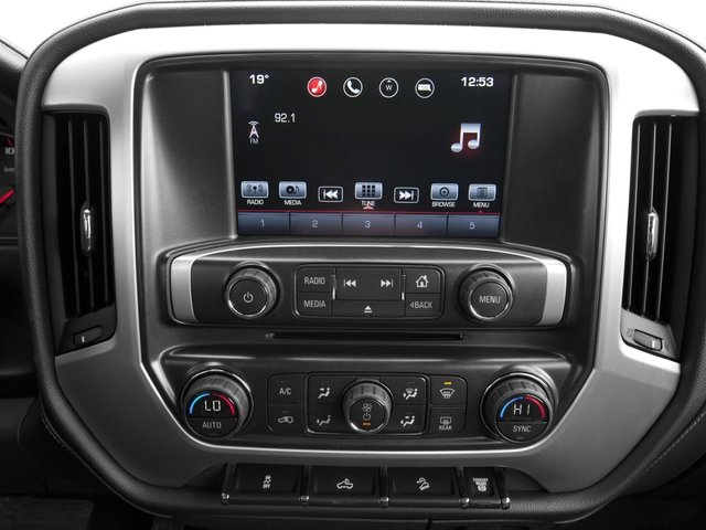 2016 GMC Sierra 3500HD Prices and Values Crew Cab SLE 2WD stereo system
