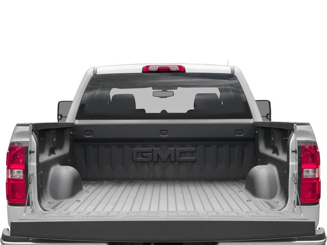 2016 GMC Sierra 3500HD Prices and Values Crew Cab SLE 2WD open trunk