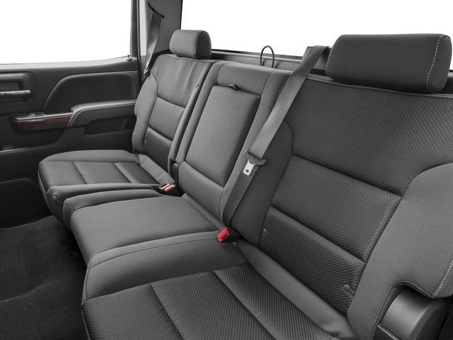 2016 GMC Sierra 3500HD Prices and Values Crew Cab SLE 2WD backseat interior