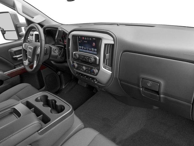 2016 GMC Sierra 3500HD Prices and Values Crew Cab SLE 2WD passenger's dashboard