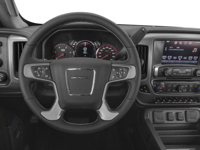 2016 GMC Sierra 3500HD Prices and Values Crew Cab Denali 2WD driver's dashboard