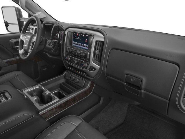 2016 GMC Sierra 3500HD Prices and Values Crew Cab Denali 2WD passenger's dashboard
