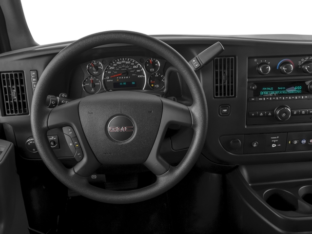 2016 GMC Savana Passenger Prices and Values Extended Savana LT 155  driver's dashboard
