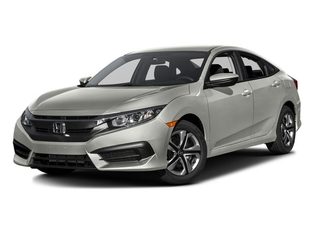 2016 Honda Civic Sedan Base Price 4dr CVT LX W Sensing Pricing Side Front