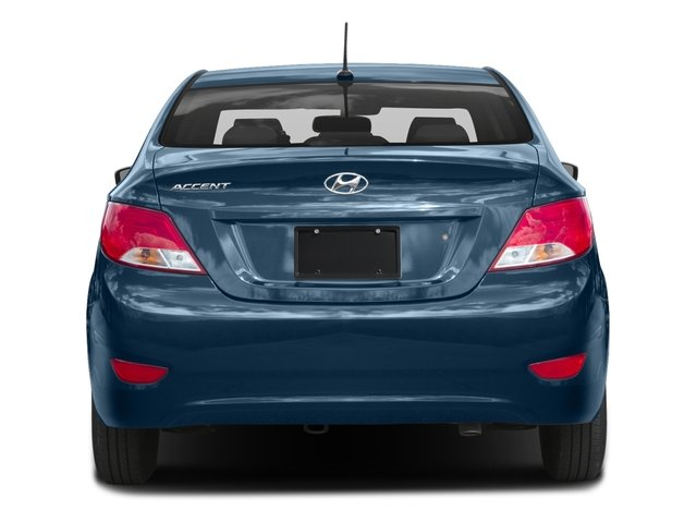 2016 Hyundai Accent Prices and Values Sedan 4D SE I4 rear view