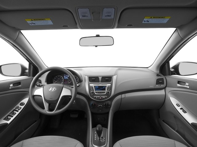 2016 Hyundai Accent Prices and Values Sedan 4D SE I4 full dashboard