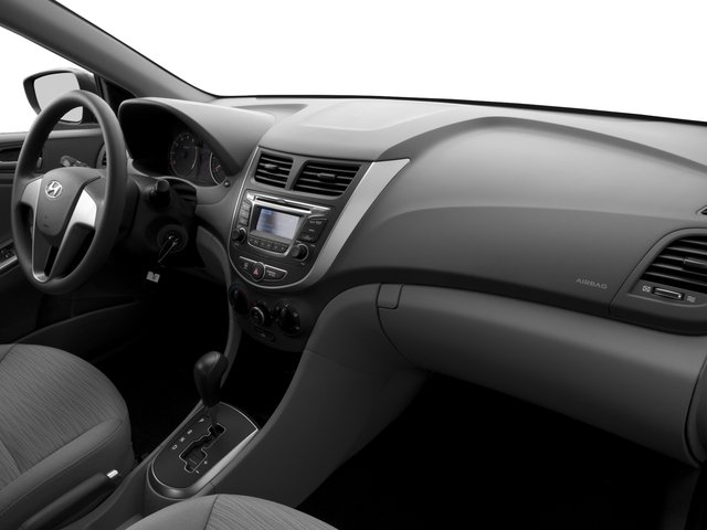 2016 Hyundai Accent Prices and Values Sedan 4D SE I4 passenger's dashboard