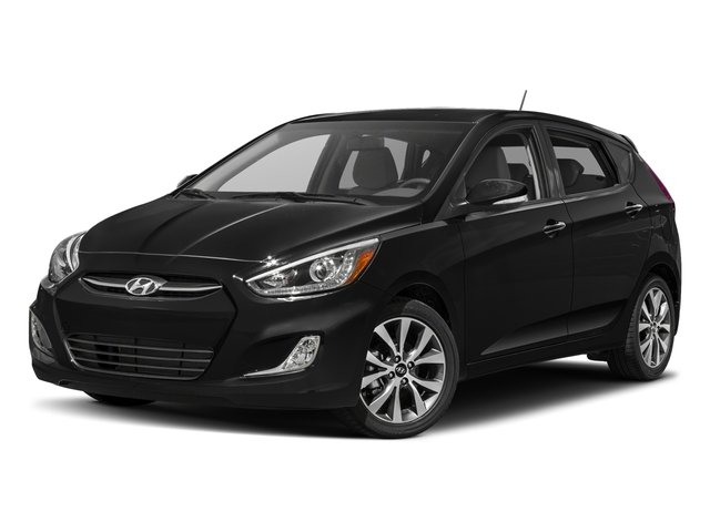 2016 Hyundai Accent Prices and Values Hatchback 5D Sport I4 side front view