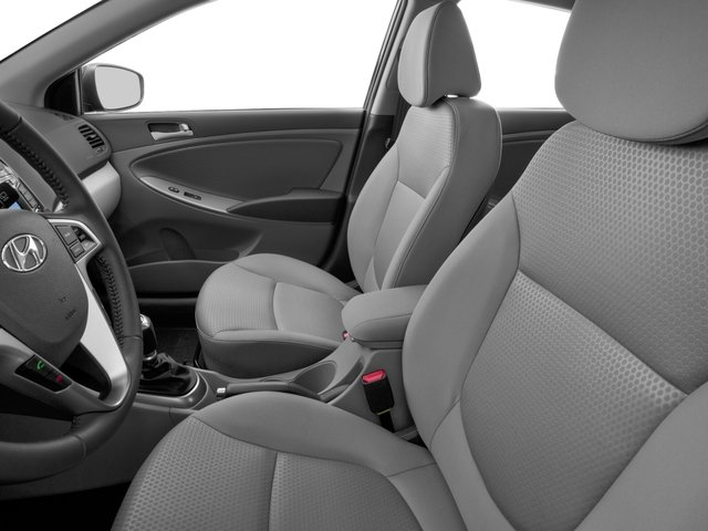 2016 Hyundai Accent Prices and Values Hatchback 5D Sport I4 front seat interior