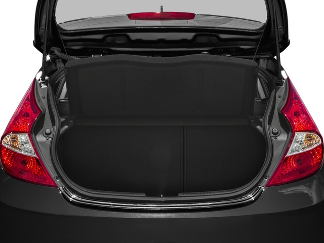 2016 Hyundai Accent Prices and Values Hatchback 5D Sport I4 open trunk