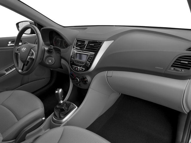 2016 Hyundai Accent Prices and Values Hatchback 5D Sport I4 passenger's dashboard