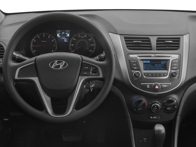 2016 Hyundai Accent Prices and Values Hatchback 5D SE I4 driver's dashboard
