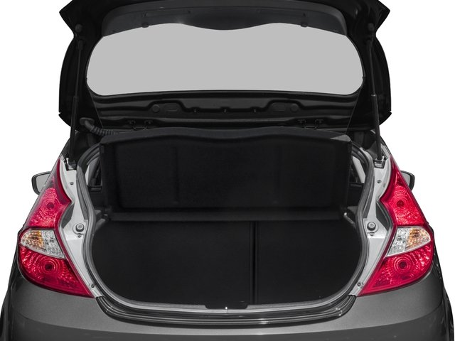 2016 Hyundai Accent Prices and Values Hatchback 5D SE I4 open trunk