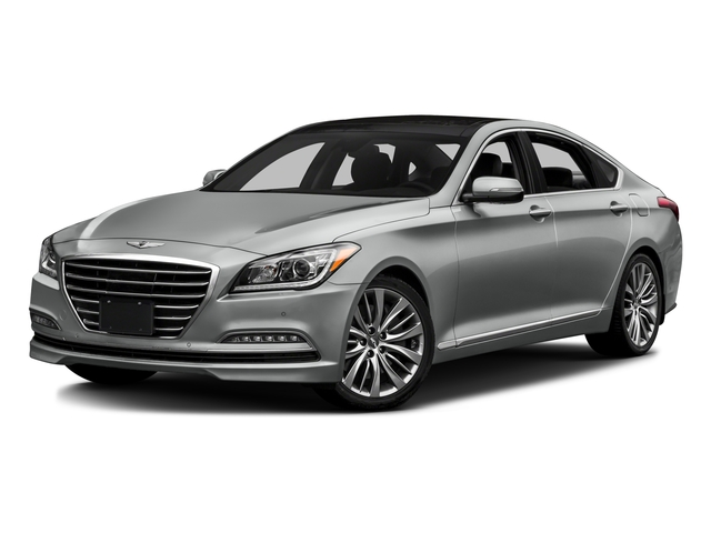 2016 Hyundai Genesis Prices and Values Sedan 4D V8 side front view
