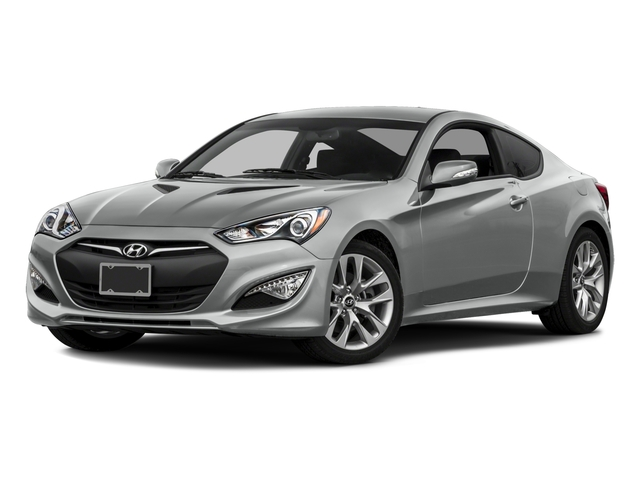2016 Hyundai Genesis Coupe Prices and Values Coupe 2D R-Spec V6 side front view
