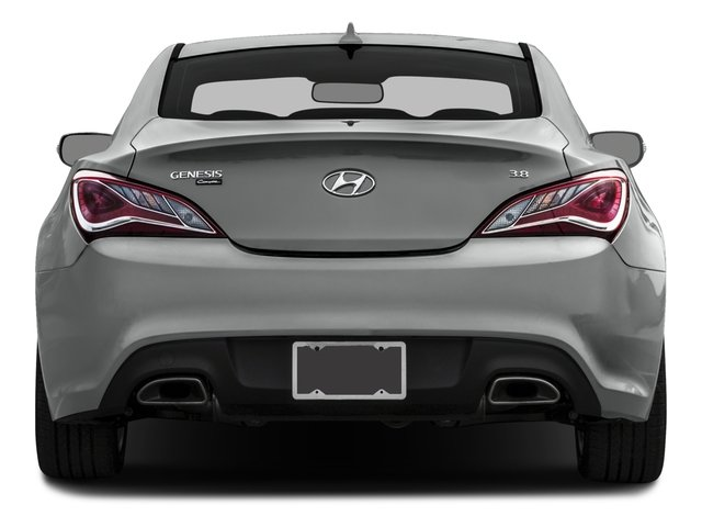 2016 Hyundai Genesis Coupe Prices and Values Coupe 2D R-Spec V6 rear view