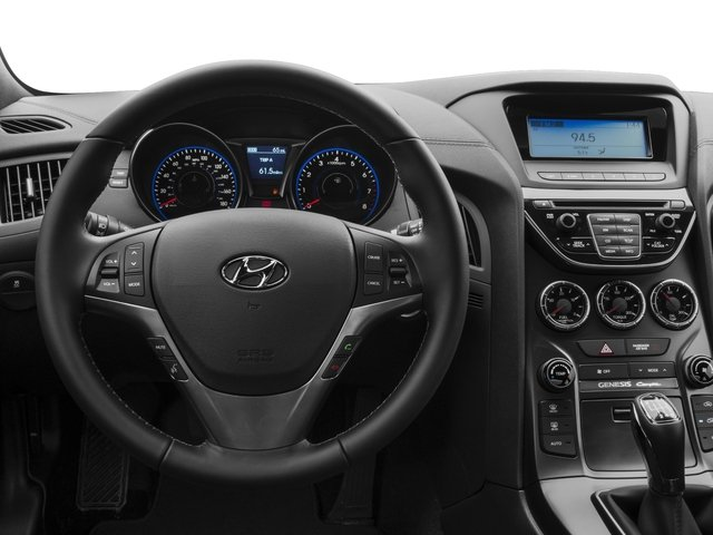 2016 Hyundai Genesis Coupe Prices and Values Coupe 2D R-Spec V6 driver's dashboard