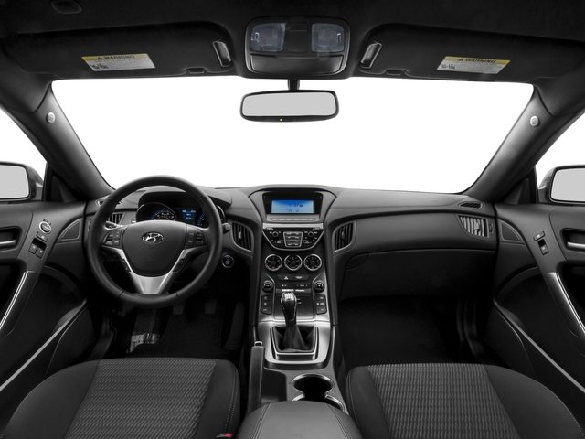 2016 Hyundai Genesis Coupe Pictures Genesis Coupe 2D Ultimate V6 photos full dashboard