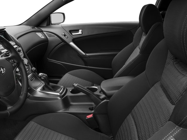 2016 Hyundai Genesis Coupe Prices and Values Coupe 2D R-Spec V6 front seat interior
