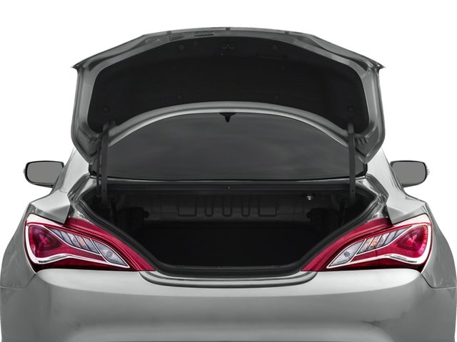 2016 Hyundai Genesis Coupe Pictures Genesis Coupe 2D Ultimate V6 photos open trunk