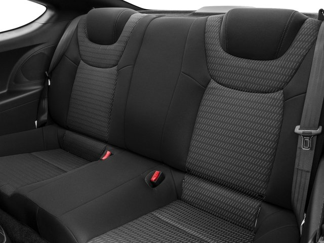 2016 Hyundai Genesis Coupe Prices and Values Coupe 2D R-Spec V6 backseat interior