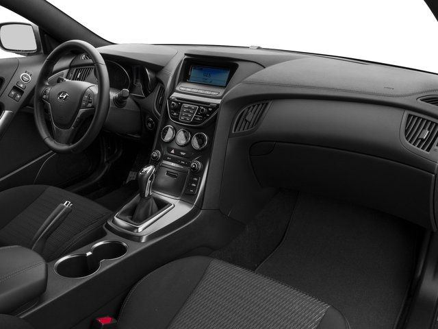 2016 Hyundai Genesis Coupe Prices and Values Coupe 2D R-Spec V6 passenger's dashboard