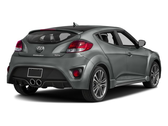 2016 Hyundai Veloster Pictures Veloster Coupe 3D I4 Turbo photos side rear view