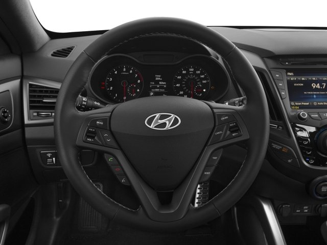 2016 Hyundai Veloster Prices and Values Coupe 3D R-Spec I4 Turbo driver's dashboard