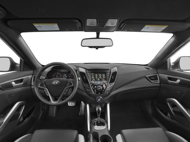 2016 Hyundai Veloster Pictures Veloster Coupe 3D I4 Turbo photos full dashboard