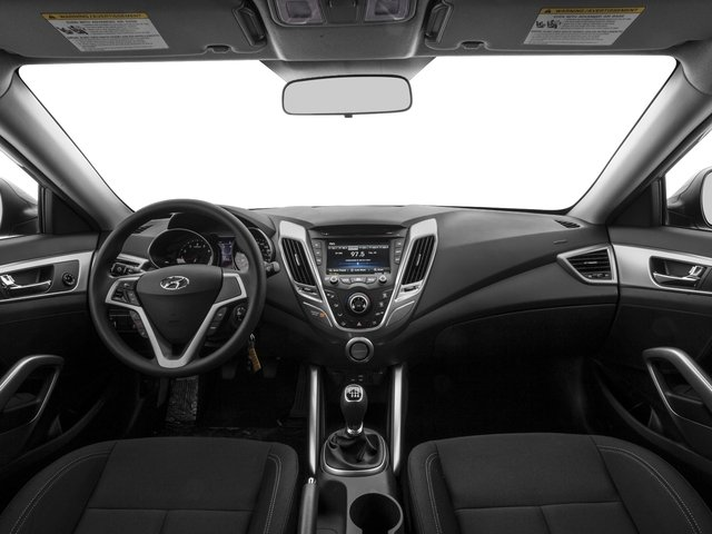 2016 Hyundai Veloster Prices and Values Coupe 3D I4 full dashboard
