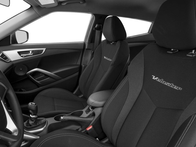 2016 Hyundai Veloster Prices and Values Coupe 3D I4 front seat interior