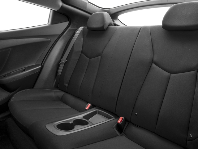 2016 Hyundai Veloster Prices and Values Coupe 3D I4 backseat interior