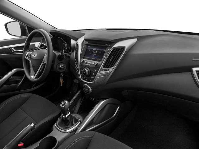 2016 Hyundai Veloster Prices and Values Coupe 3D I4 passenger's dashboard