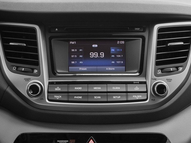2016 Hyundai Tucson Prices and Values Utility 4D SE Popular 2WD I4 stereo system