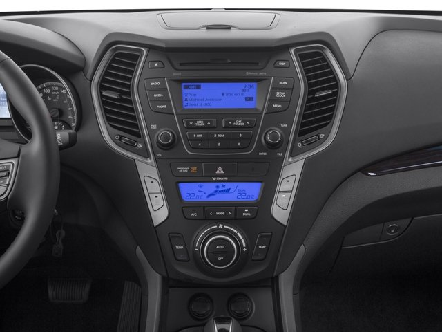 2016 Hyundai Santa Fe Sport Prices and Values Utility 4D Sport AWD stereo system