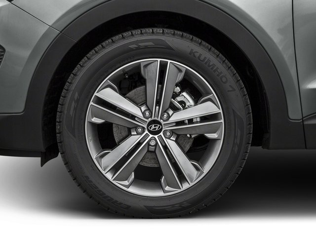 2016 Hyundai Santa Fe Pictures Santa Fe Utility 4D Limited AWD photos wheel