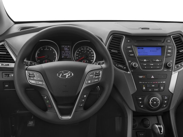 2016 Hyundai Santa Fe Prices and Values Utility 4D SE Ultimate 2WD driver's dashboard