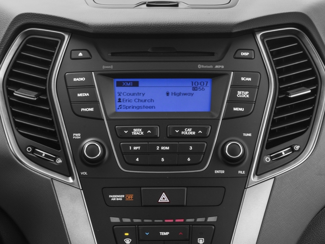 2016 Hyundai Santa Fe Prices and Values Utility 4D SE Ultimate 2WD stereo system