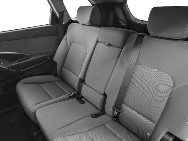 2016 Hyundai Santa Fe Prices and Values Utility 4D SE Ultimate 2WD backseat interior