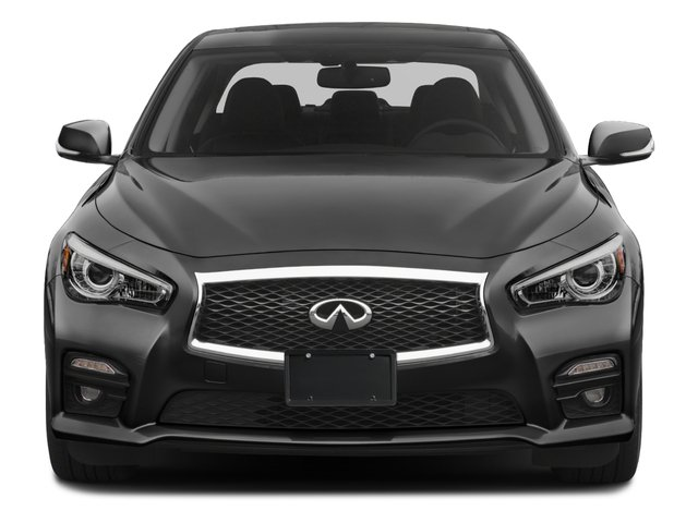 2016 INFINITI Q50 Prices and Values Sedan 4D 3.0T Red Sport V6 Turbo front view