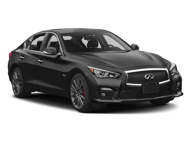 2016 INFINITI Q50 Pictures Q50 Sedan 4D 3.0T Sport AWD V6 Turbo photos side front view