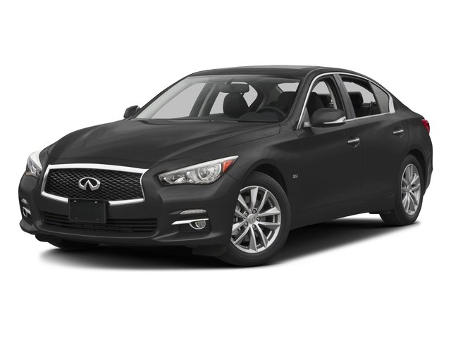 2016 INFINITI Q50 Prices and Values Sedan 4D 2.0T Premium AWD I4 Turbo side front view