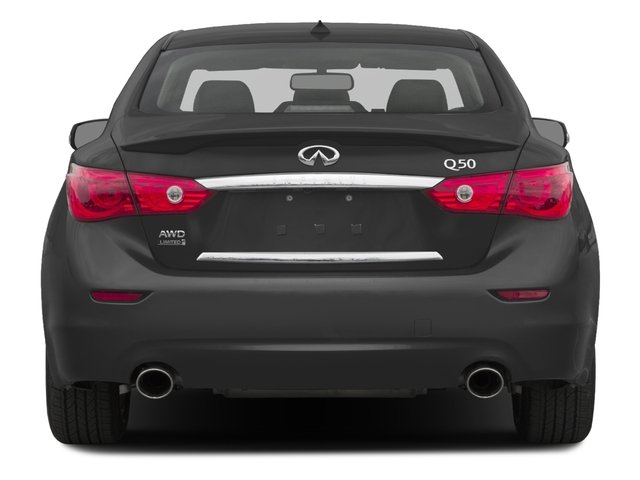 2016 INFINITI Q50 Prices and Values Sedan 4D 2.0T Premium AWD I4 Turbo rear view