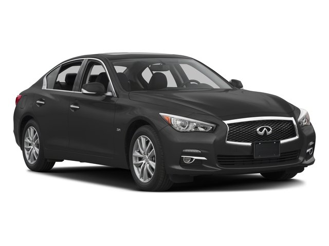 2016 INFINITI Q50 Prices and Values Sedan 4D 3.0T Premium AWD V6 Turbo side front view