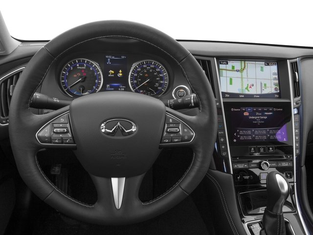 2016 INFINITI Q50 Prices and Values Sedan 4D AWD V6 Hybrid driver's dashboard
